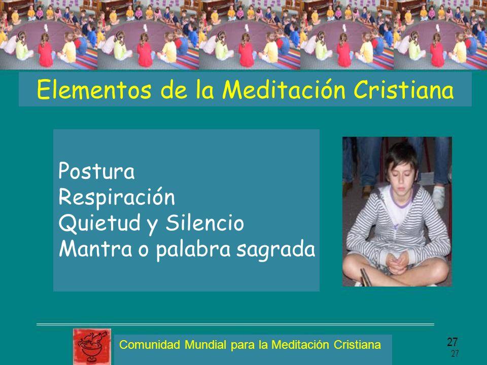 Elementos de la Meditación Cristiana