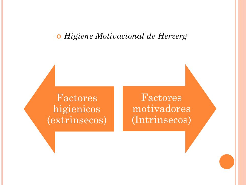 Higiene Motivacional de Herzerg