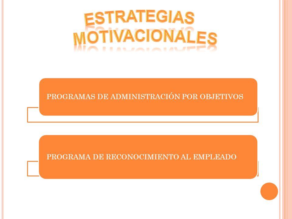 ESTRATEGIAS MOTIVACIONALES