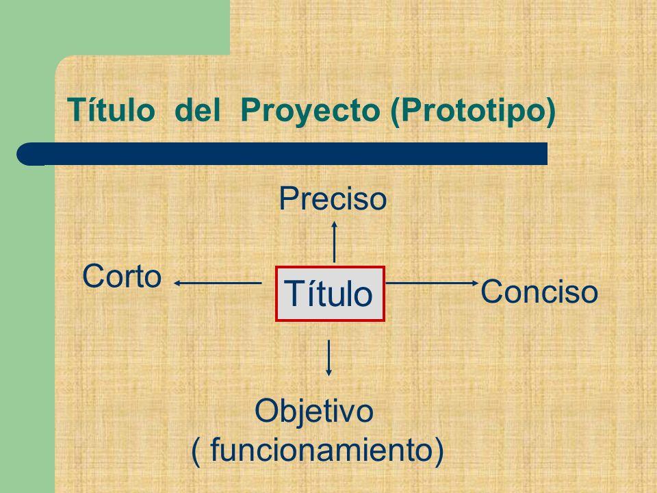 Título del Proyecto (Prototipo)