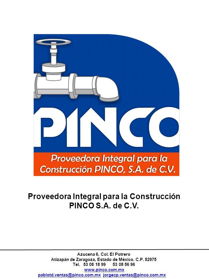 Proveedora Integral para la Construcción PINCO S.A. de C.V.