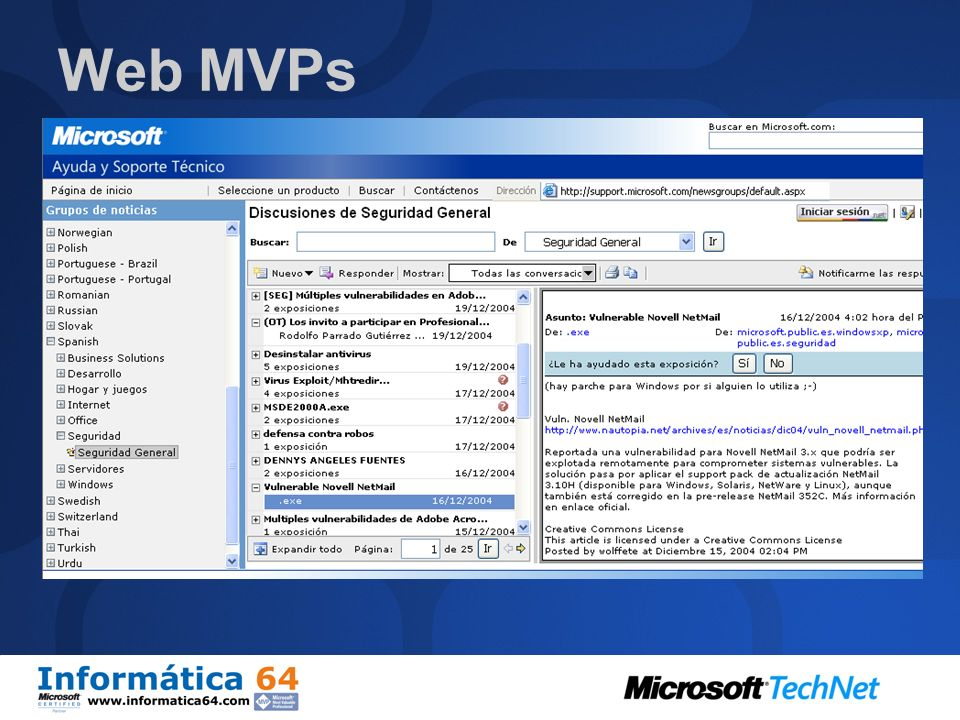 Web MVPs
