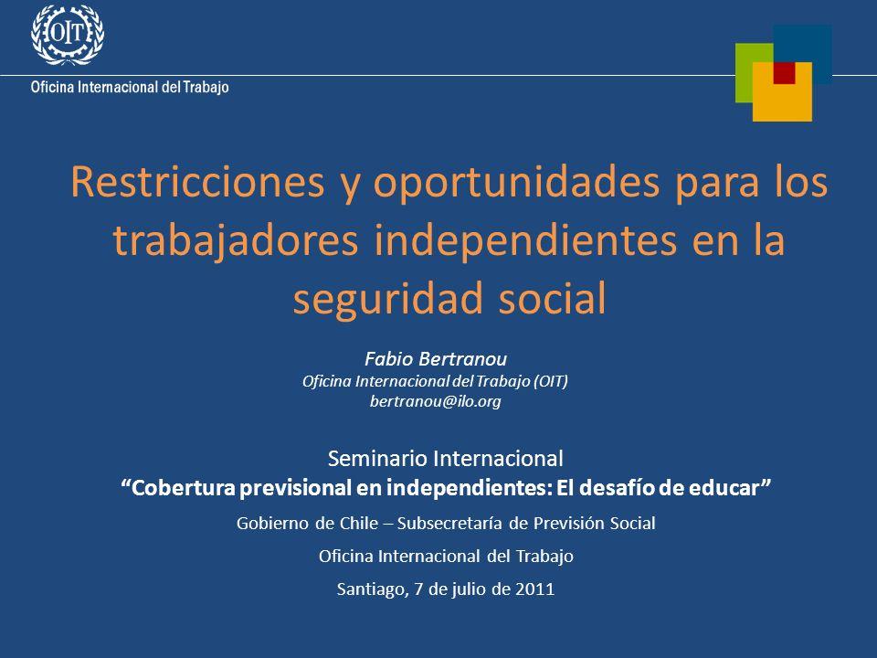 Cobertura previsional en independientes: El desafío de educar