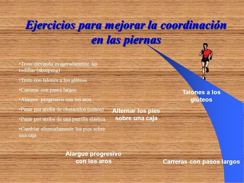Ejercicios para mejorar la coordinación en las piernas