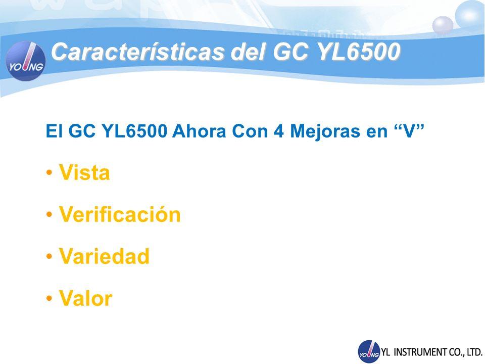 Características del GC YL6500