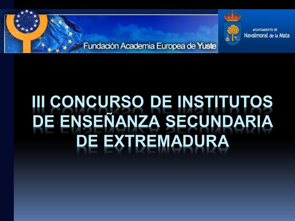 III Concurso de institutos de Enseñanza Secundaria de Extremadura