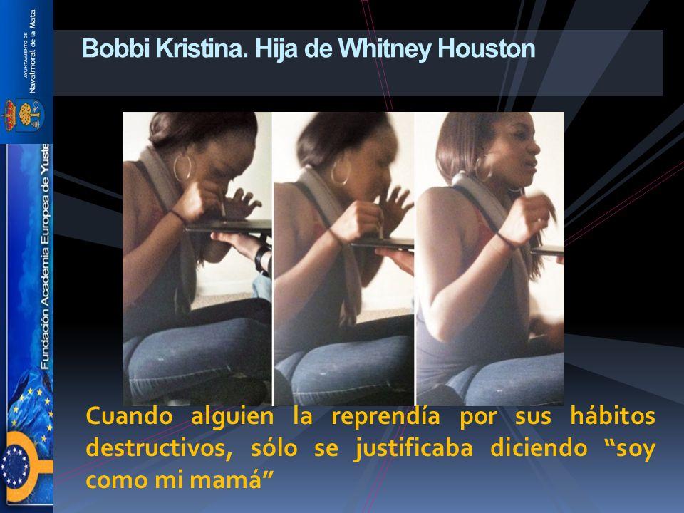 Bobbi Kristina. Hija de Whitney Houston
