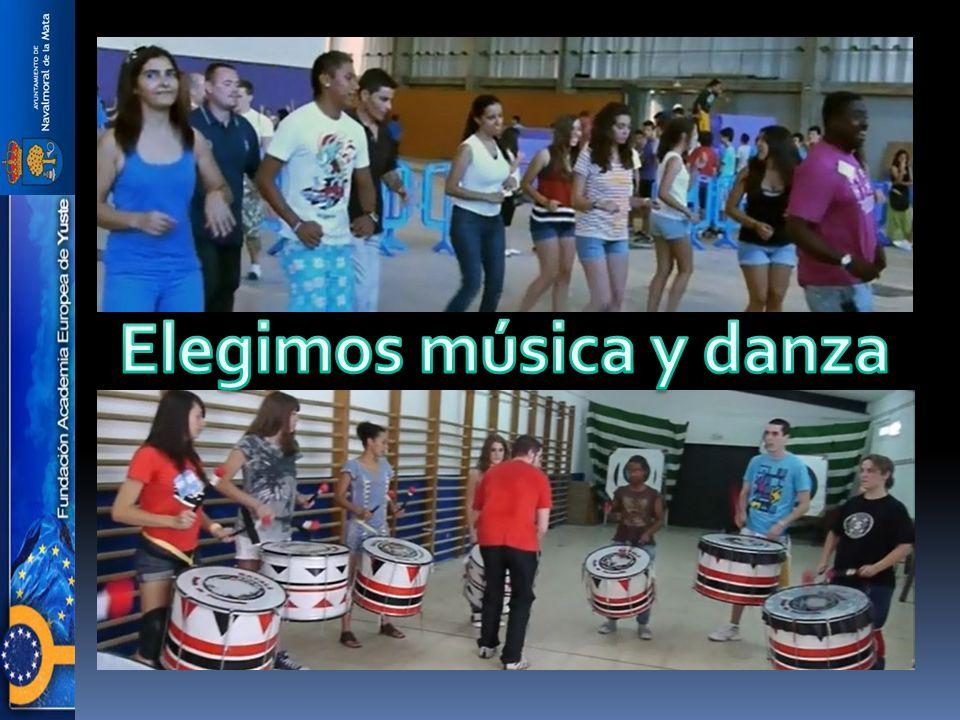 Elegimos música y danza