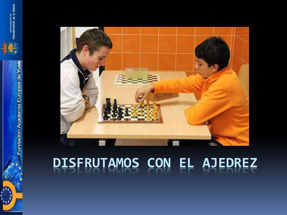 Disfrutamos con el ajedrez