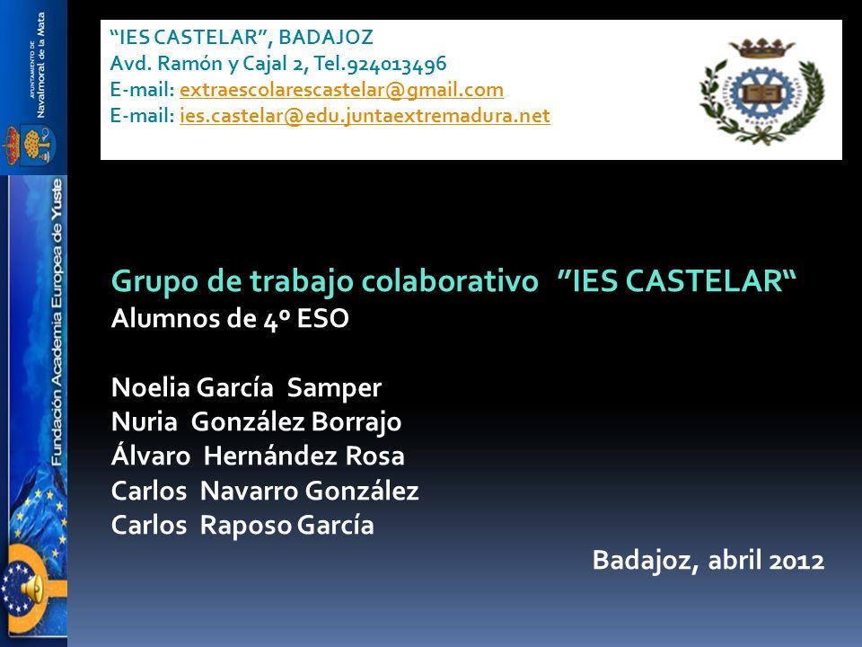 Grupo de trabajo colaborativo IES CASTELAR