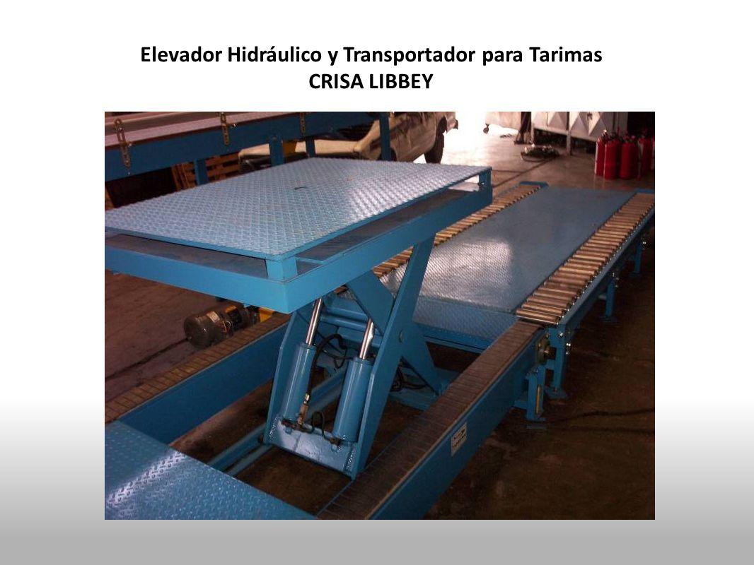 Elevador Hidráulico y Transportador para Tarimas