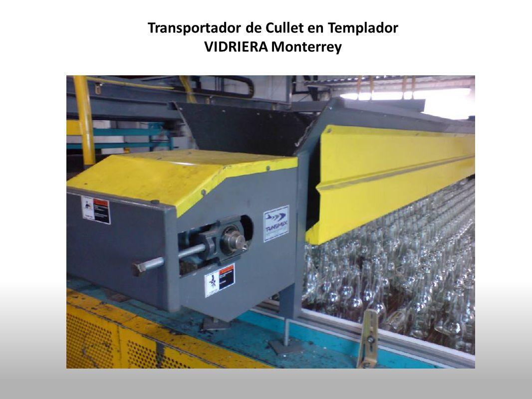 Transportador de Cullet en Templador