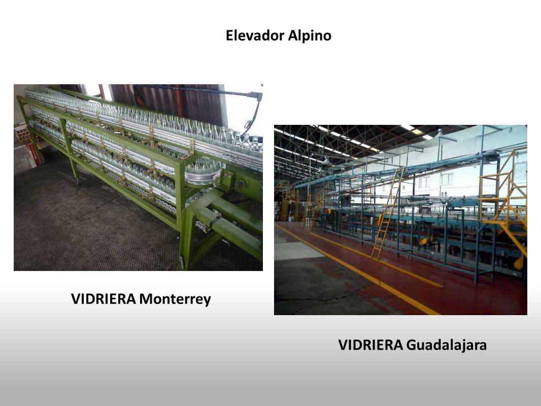 Elevador Alpino VIDRIERA Monterrey VIDRIERA Guadalajara