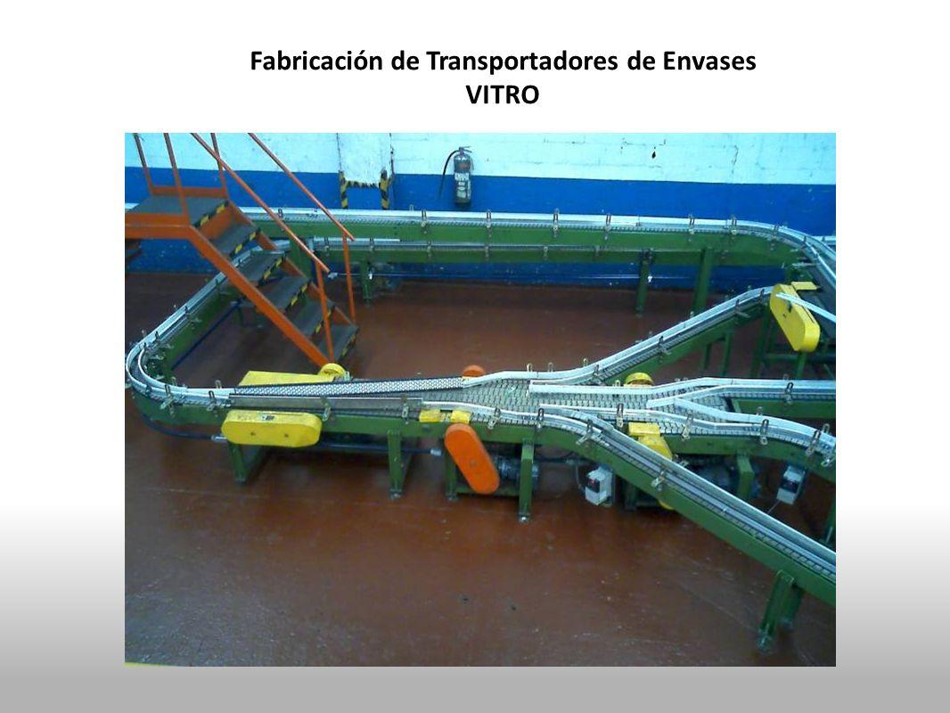 Fabricación de Transportadores de Envases