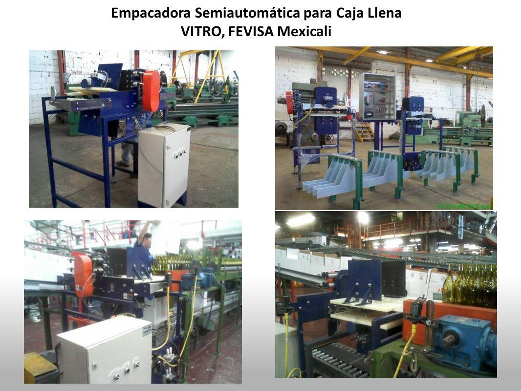 Empacadora Semiautomática para Caja Llena