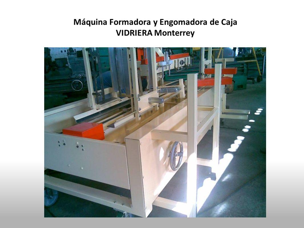 Máquina Formadora y Engomadora de Caja VIDRIERA Monterrey