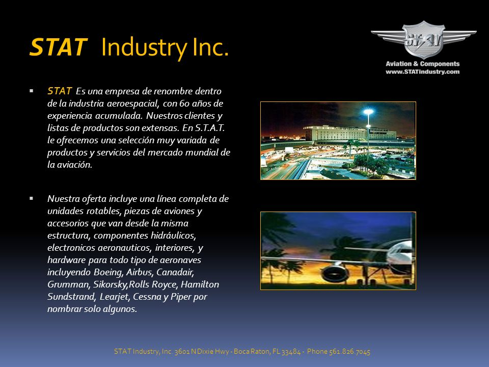 STAT Industry Inc.