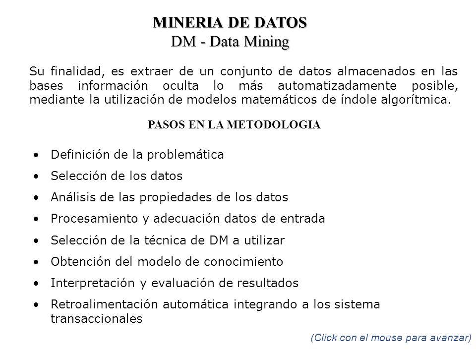 PASOS EN LA METODOLOGIA