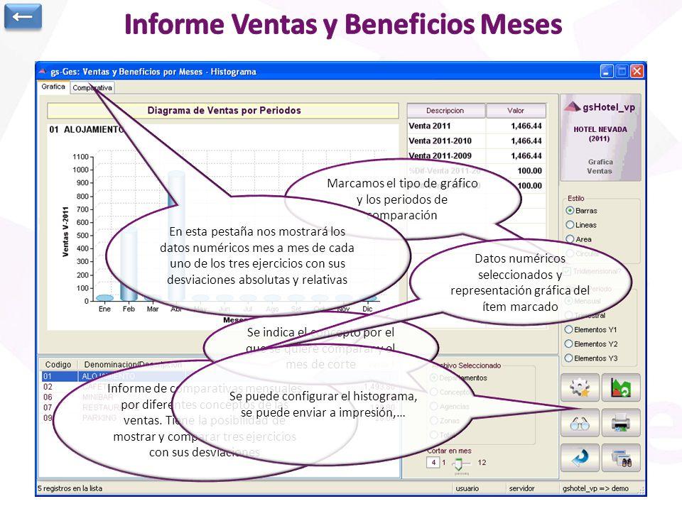Informe Ventas y Beneficios Meses
