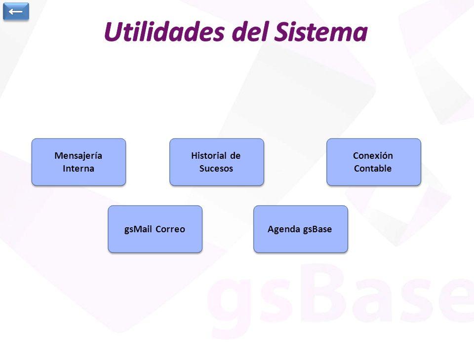 Utilidades del Sistema