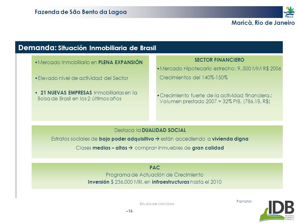Demanda: Situación Inmobiliaria de Brasil