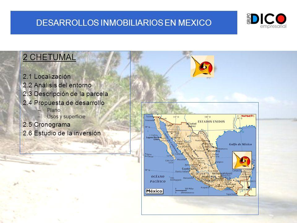 DESARROLLOS INMOBILIARIOS EN MEXICO