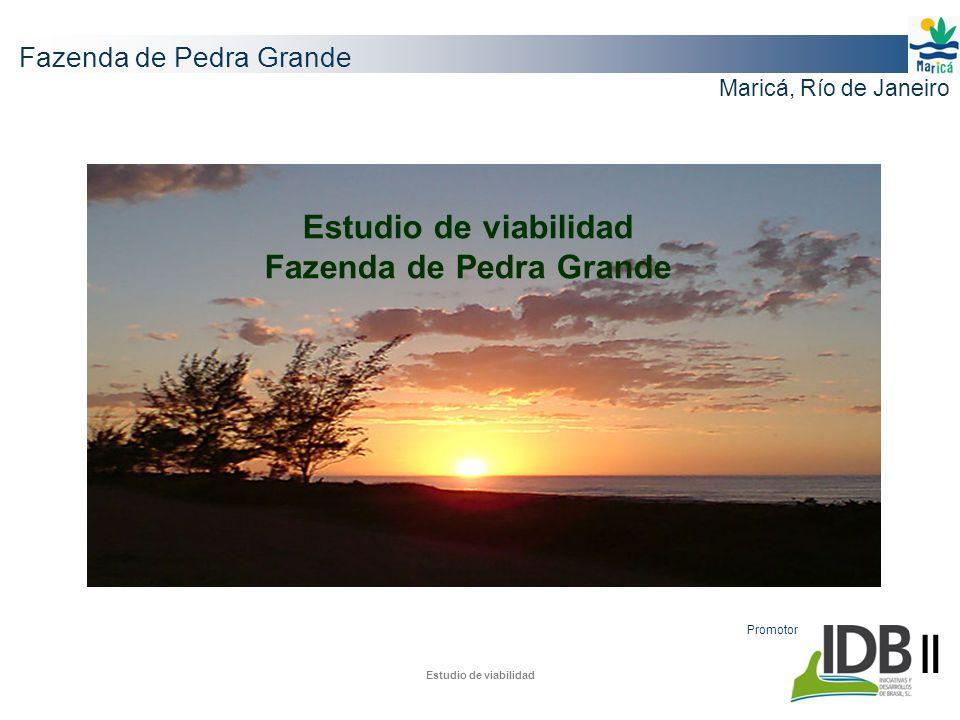 Estudio de viabilidad Fazenda de Pedra Grande