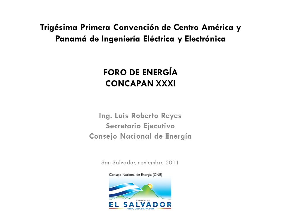 Consejo Nacional de Energía