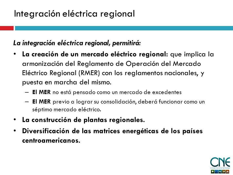 Integración eléctrica regional