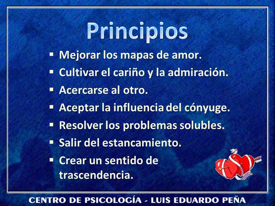 Principios Mejorar los mapas de amor.