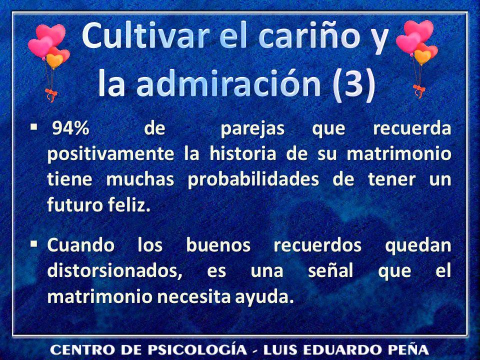 Cultivar el cariño y la admiración (3)