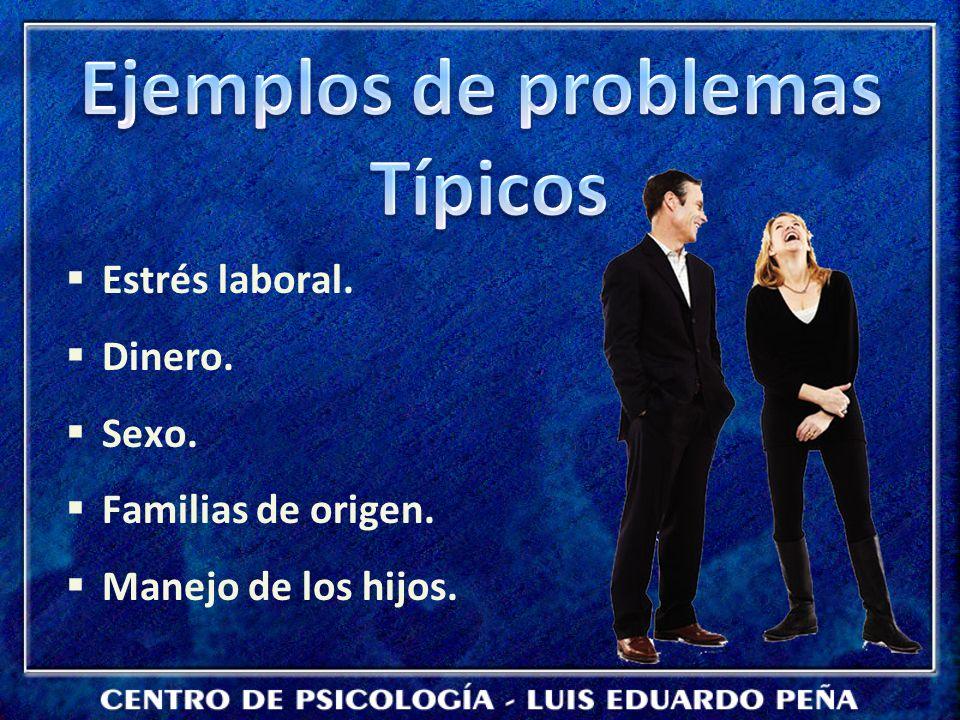 Ejemplos de problemas Típicos