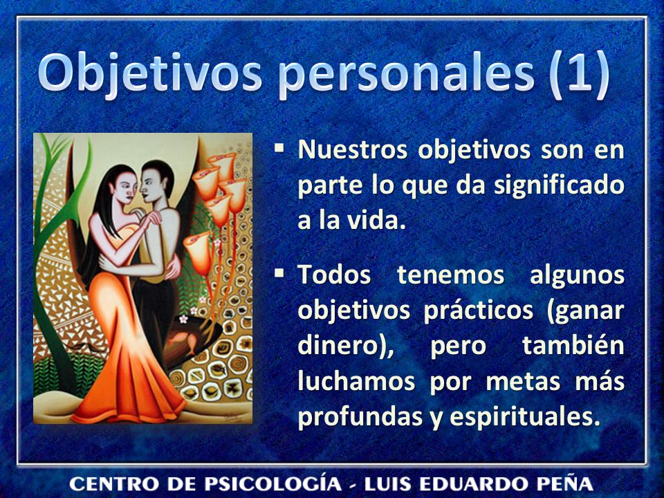 Objetivos personales (1)
