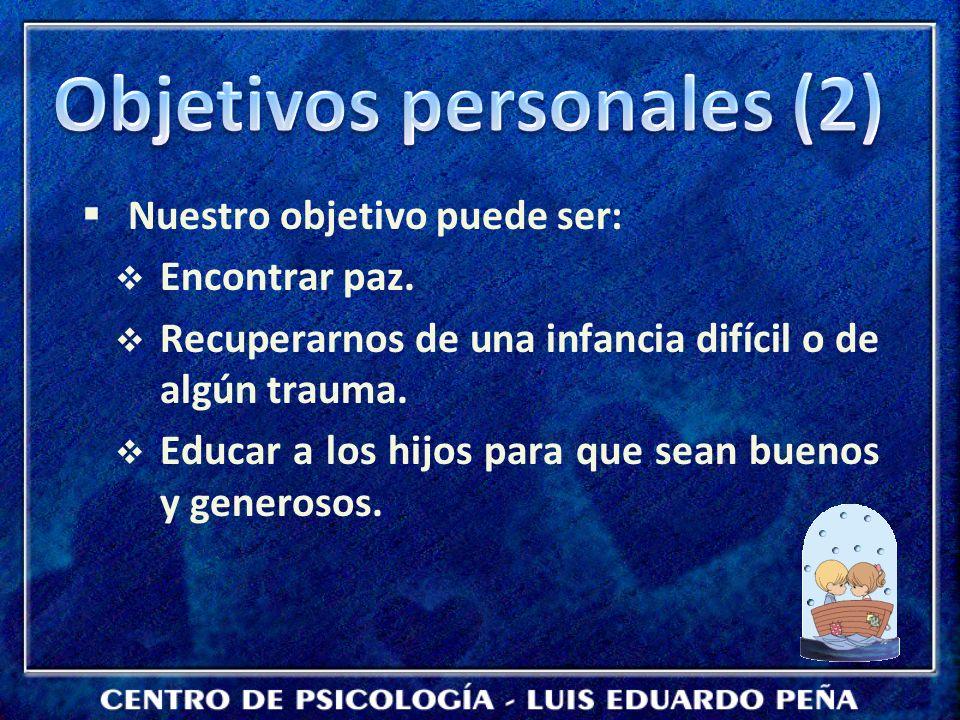 Objetivos personales (2)