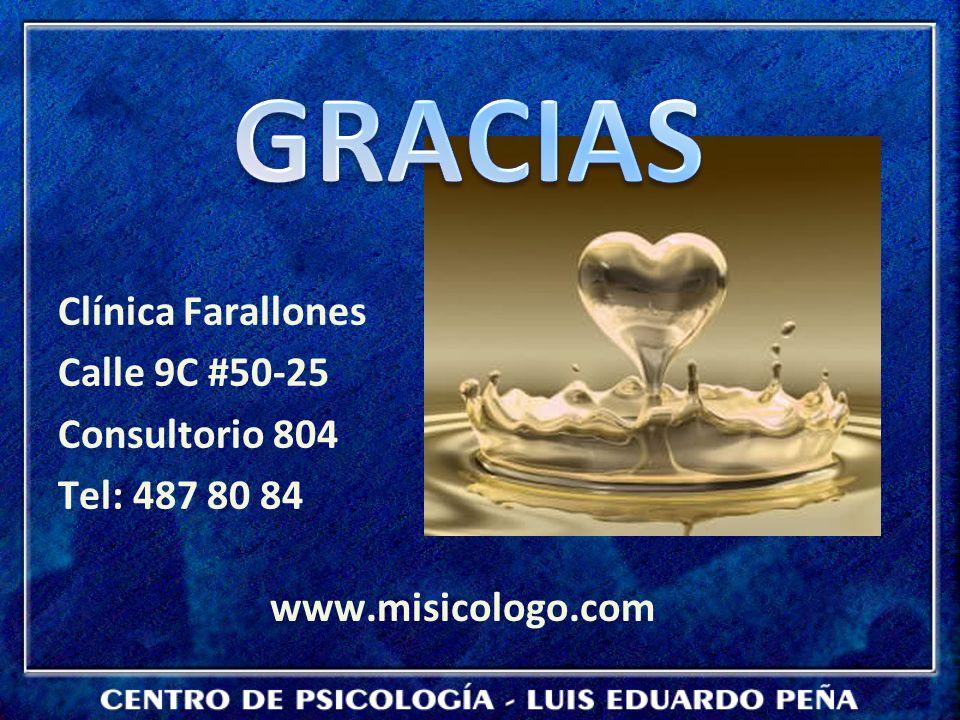 GRACIAS Clínica Farallones Calle 9C #50-25 Consultorio 804