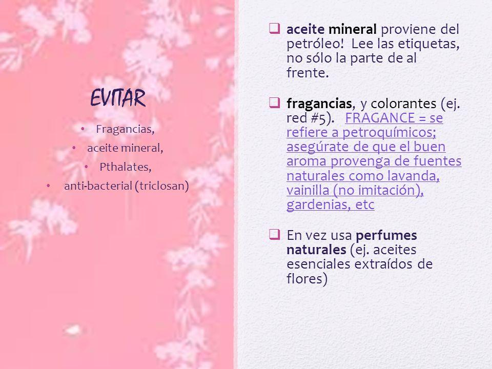 anti-bacterial (triclosan)