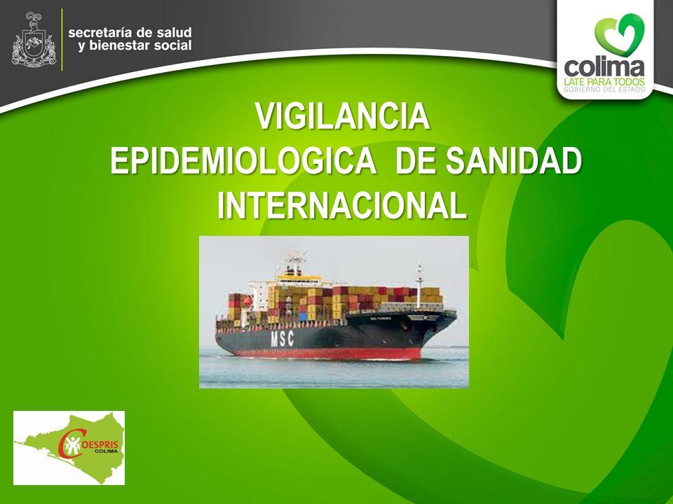VIGILANCIA EPIDEMIOLOGICA DE SANIDAD INTERNACIONAL