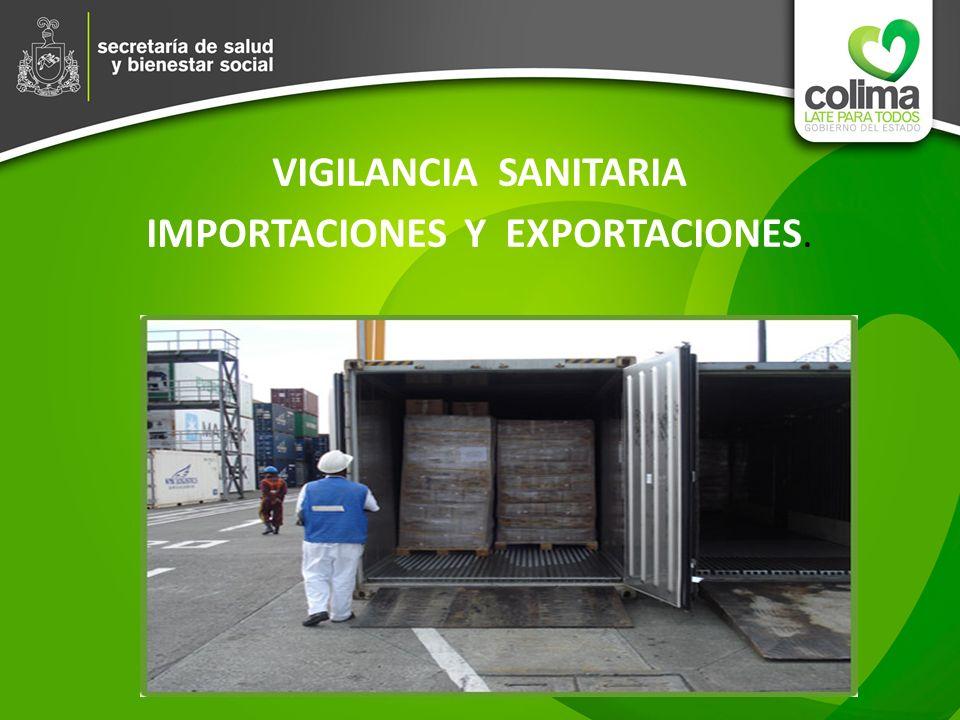 IMPORTACIONES Y EXPORTACIONES.