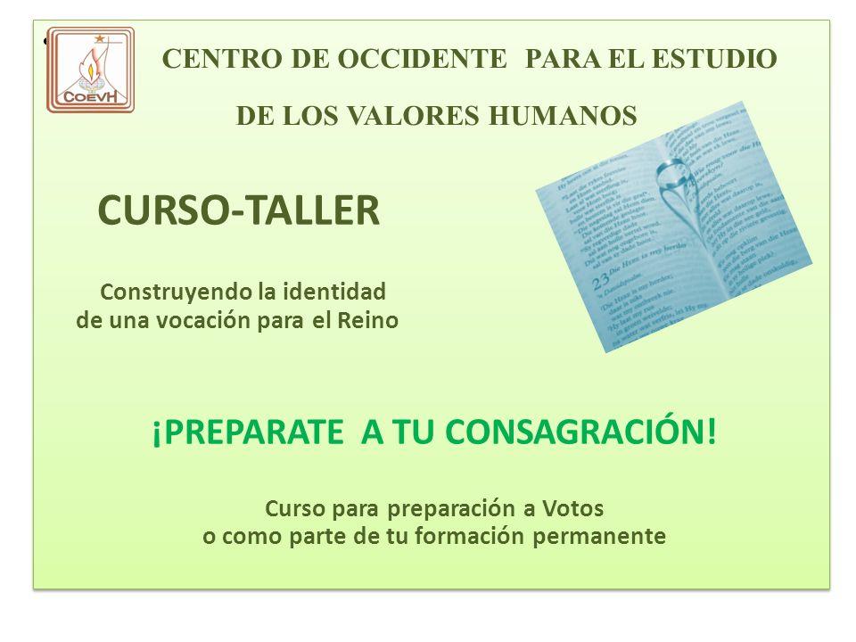 CENTRO DE OCCIDENTE PARA EL ESTUDIO DE LOS VALORES HUMANOS