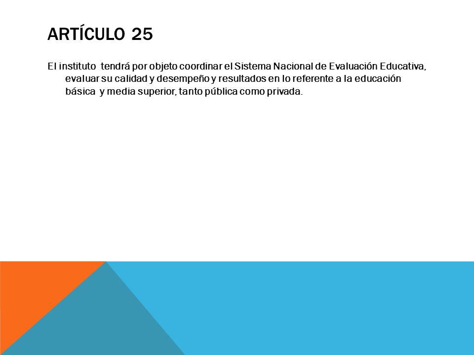 Artículo 25