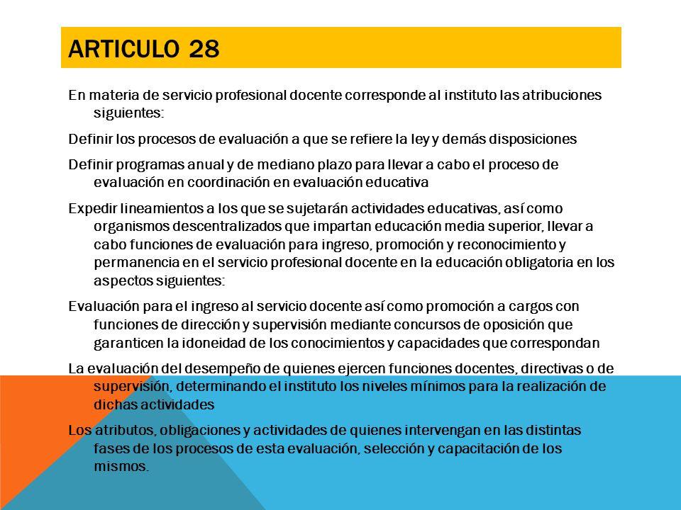 Articulo 28