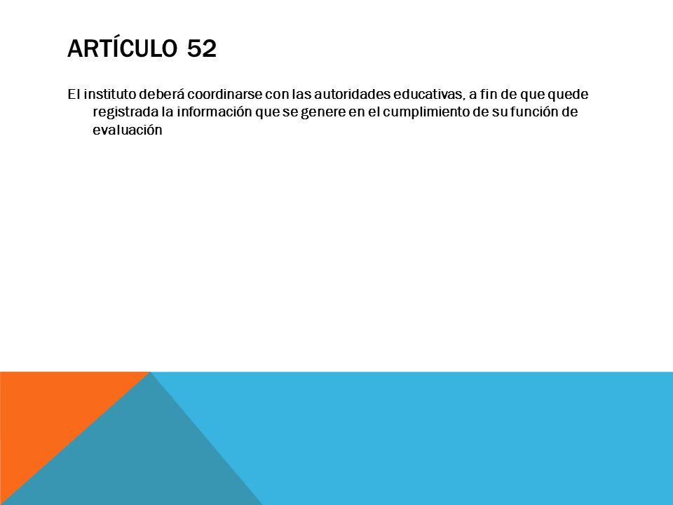 Artículo 52