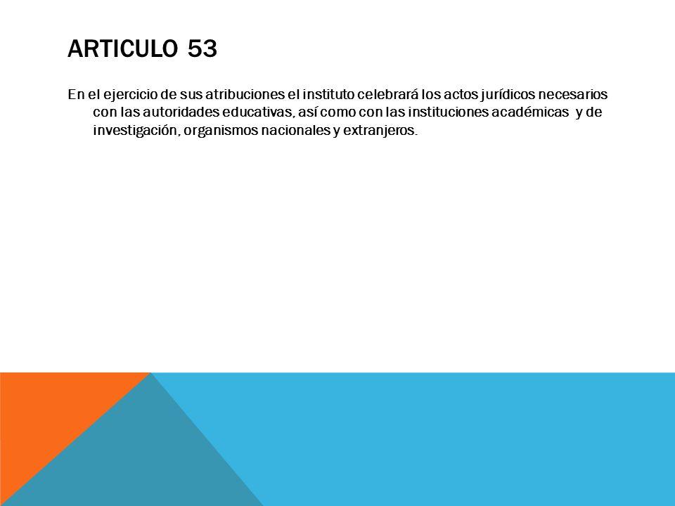 Articulo 53