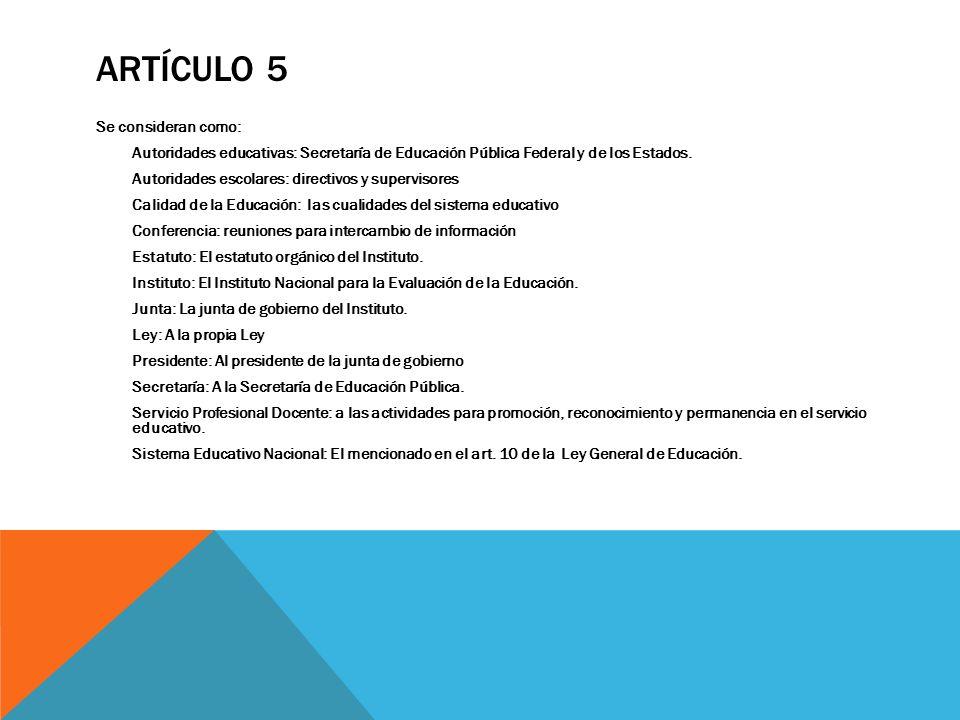 Artículo 5