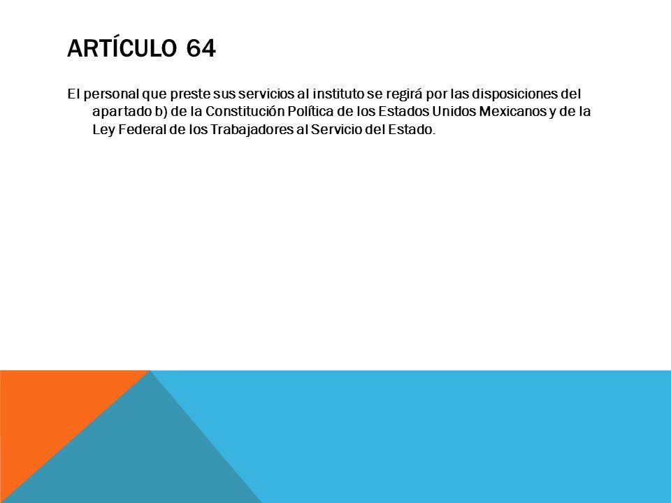Artículo 64