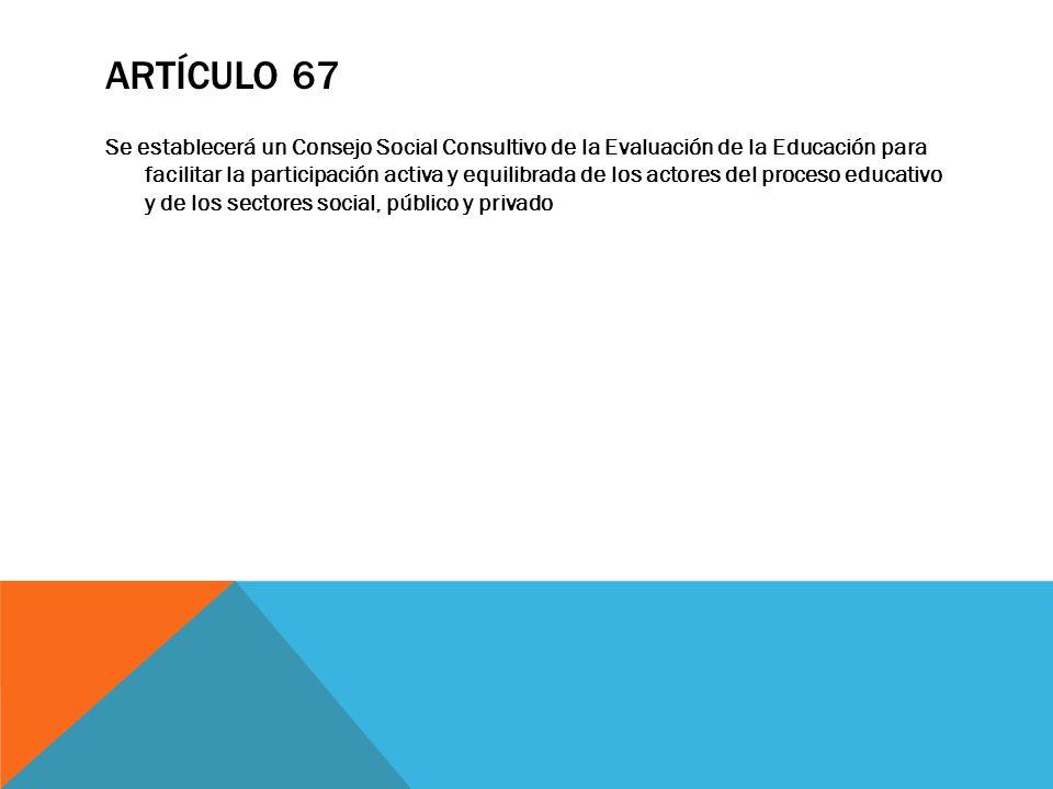 Artículo 67