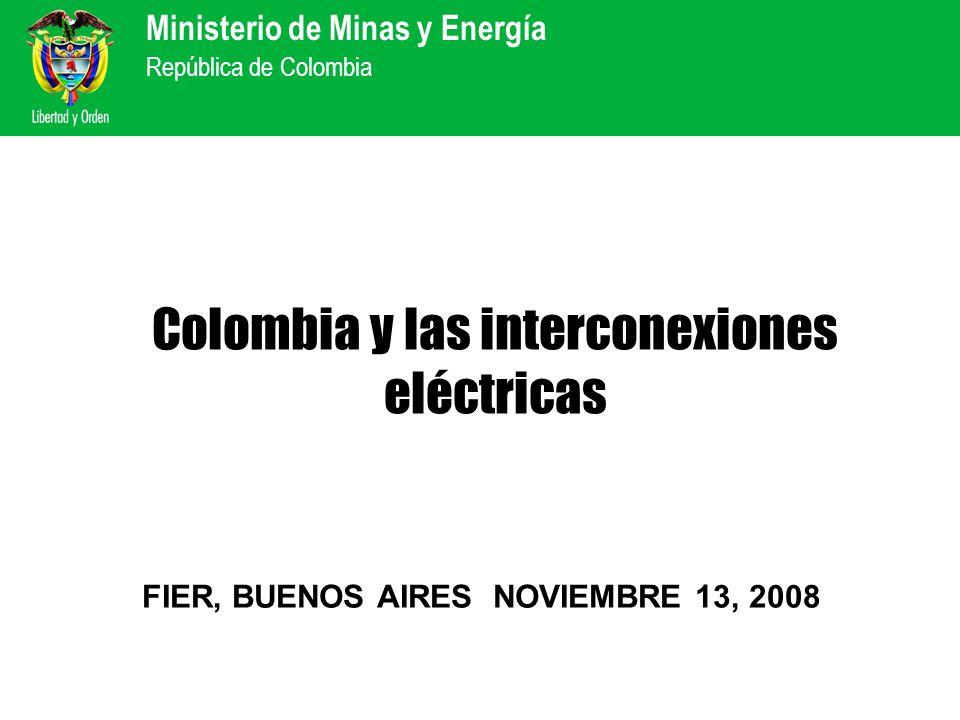 Colombia y las interconexiones eléctricas