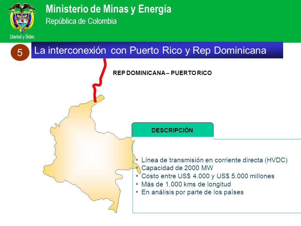 La interconexión con Puerto Rico y Rep Dominicana 5