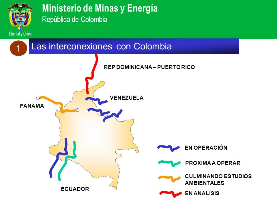 Las interconexiones con Colombia 1