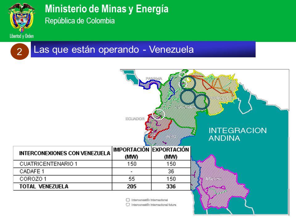 Las que están operando - Venezuela 2